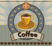 Caffè menu Immagini Stock