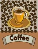 Caffè menu Immagine Stock Libera da Diritti