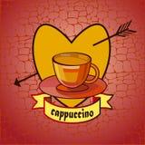 Caffè menu Fotografia Stock