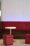 Caffè moderno del salotto Fotografia Stock Libera da Diritti