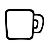 Caffè mug Immagini Stock