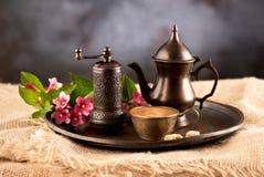 Caffè nello stile orientale Immagine Stock Libera da Diritti