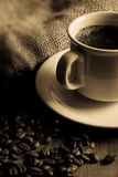 Caffè nero Immagini Stock Libere da Diritti