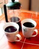 Caffè nero fotografie stock