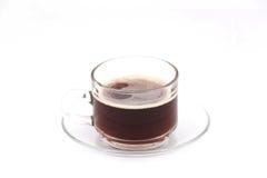 Caffè nero in tazza Fotografia Stock Libera da Diritti