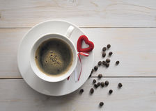 Caffè per un caro Fotografie Stock