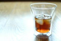 Caffè preparato freddo con ghiaccio Fotografia Stock Libera da Diritti