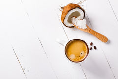 Caffè a prova di proiettile Fotografie Stock Libere da Diritti