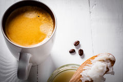 Caffè a prova di proiettile Immagini Stock