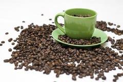 Caffè reale Fotografie Stock