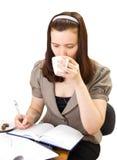 Caffè-Rompa, isolato Fotografia Stock Libera da Diritti