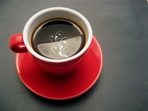 Caffè rosso Fotografie Stock Libere da Diritti