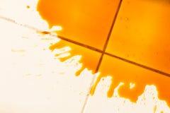 Caffè rovesciato Immagini Stock