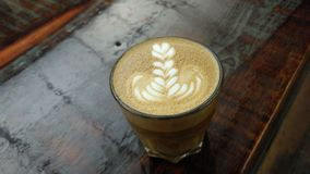 Caffè rustico impertinente Fotografia Stock Libera da Diritti