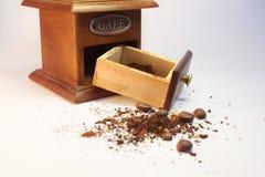 Caffè-smerigliatrice Immagine Stock Libera da Diritti