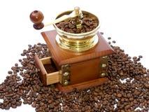 Caffè-smerigliatrice Immagini Stock Libere da Diritti