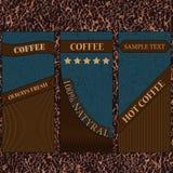Caffè-società-piacevole-pelle Immagine Stock