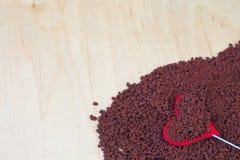 Caffè solubile Fotografie Stock