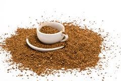Caffè solubile fotografia stock libera da diritti