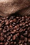 Caffè sotto il sacco Immagine Stock Libera da Diritti