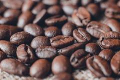 Caffè sul fondo di legno di lerciume Immagine Stock