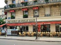 Caffè sull'isola Cite a Parigi immagine stock