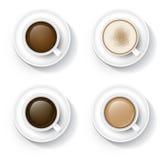 Caffè in tazza Immagini Stock Libere da Diritti