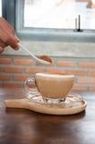 Caffè Tazza di caffè bianco Immagine Stock
