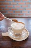 Caffè Tazza di caffè bianco Fotografie Stock