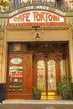 Caffè Tortoni, Buenos Aires, Argentina fotografie stock