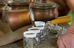 Caffè turco fotografie stock libere da diritti