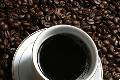 Caffè una rottura Immagine Stock