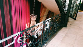Caffè urbano Cirque di stile di Parigi Fotografia Stock