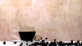 Caffè video d archivio