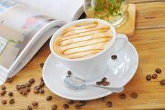 Caffè del tè di pomeriggio Fotografia Stock