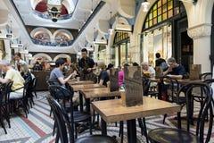 Caffè della regina Victoria Building, Sydney CBD Immagini Stock