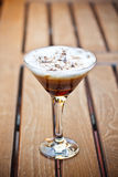 Caffè fresco freddo del cocktail Fotografie Stock Libere da Diritti