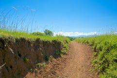 Caffarella trail, Roma, Italy Royalty Free Stock Photos