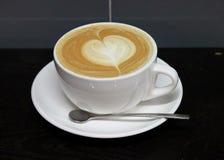 Caffe拿铁食物 免版税库存图片