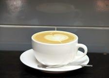 Caffe拿铁食物 免版税库存照片