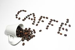 Caffe' Royalty Free Stock Image