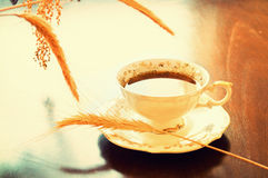 Caffe. Royalty Free Stock Images