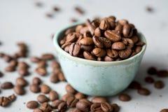 Caffe bönor, caffe, drink, kaffe, espresso, Arkivfoton