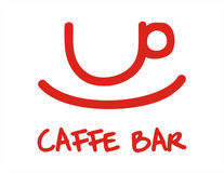 Caffe bar + vector file Stock Photo