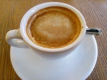 Caffe. Delicious Italian coffee in the Italian bar Stock Photo