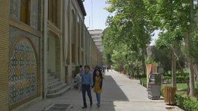 Caffe do palácio de Golestan vídeos de arquivo