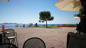 Caffe em Zadar Foto de Stock Royalty Free