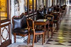Caffe Florian, Βενετία Στοκ φωτογραφία με δικαίωμα ελεύθερης χρήσης