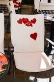 Caffe interior love story royalty free stock photography