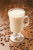 Caffe Latte Stock Photo